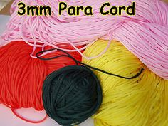 3mm parachute para cord #lanyard sailing knot wrap #bracelet survival #utility ro,  View more on the LINK: http://www.zeppy.io/product/gb/2/281350480272/