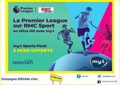 La Premier League sur RMC Sport en Ultra HD avec my.t Premier League, Trait D Union, Us Supreme Court, Make Sense, Online Marketing, Investing, Entertainment, Messages, Sports