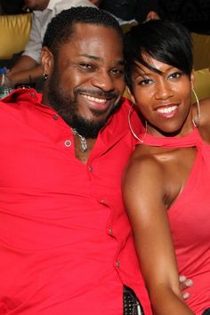 Former child stars Malcolm Jamal Warner and Regina King are heating it up in Hollywood! Famous Couples, Hot Couples, Couples In Love, Power Couples, My Black Is Beautiful, Black Love, Beautiful Couple, Black Celebrities, Celebs