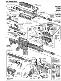 Learning how to disassemble and reassemble firearms can be a pretty difficult task. In particular, or rifles are more difficult than most. I am still learning the ins and outs of these particular rifles and it has definitely been a challenge. Military Weapons, Weapons Guns, Guns And Ammo, Military Tactics, Military Gifts, Ar Rifle, Ar 15 Builds, By Any Means Necessary, Assault Rifle