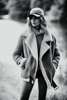 Mixte #9 F/W 14/15 Photographer: Emma Tempest Stylist: Dimphy den Otter Model: Magdalena Frackowiak