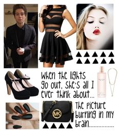"""""""English Love Affair/Happy B Day Luke!"""" by hood-irwin-hemmings-clifford ❤ liked on Polyvore featuring MICHAEL Michael Kors, Victoria's Secret, Givenchy, 5sos, lukehemmings and happybirthdayLuke"""