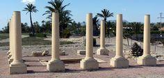 A tres kilómetros al sur de la ciudad alicantina de Elche, en el Camp d'Elx,  se encuentra el yacimiento arqueológico de La Alcudia. La población romana se ubicó en un antiguo asentamiento ibérico, que nos ha aportado la gran joya del arte ibérico: el busto conocido como la Dama de Elche, tallada posiblemente en torno al siglo V a.C. y descubierta en 1897.