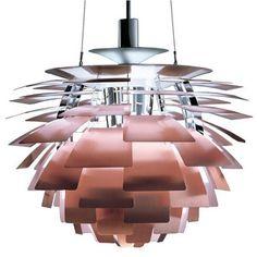 Hanglamp/Kroonluchter Artichoke. Verkrijgbaar bij www.deblauwedeel-verlichting.nl.