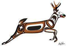 The Unity Wall | Phase I Inuit Kunst, Inuit Art, Kunst Der Aborigines, Mannequin Art, Rena, Native American Symbols, Haida Art, Deer Art, Native Design