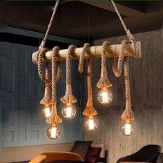 Resultado de imagem para luminaria feita com bambu
