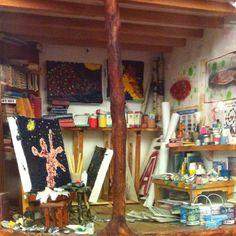 Painters studio @ the mousehouse
