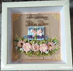 Wedding Engagement, Diy Wedding, Wedding Gifts, Pop Up Frame, Kebaya Wedding, Creative Money Gifts, Flower Frame, Special Day, Envelope