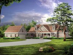 cottages with wrap around porch on