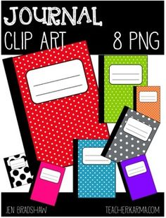 FREE+JOURNAL+CLIP+ART  Brightly+colored,+polka+dotted+journal+clip+art+that+is+great+for+adding+to+parent+newsletters,+literacy+and+writing+stations,+activities,+printables+and+student+worksheets,+etc.  ^^^^^^^^^^^^^^^^^^^^^^^^^^^^^^^^^^^^^^^^^^^^^^^^^^^^^^^^^^^^^^^  If+you+are+not+following+me,+please+join+me!