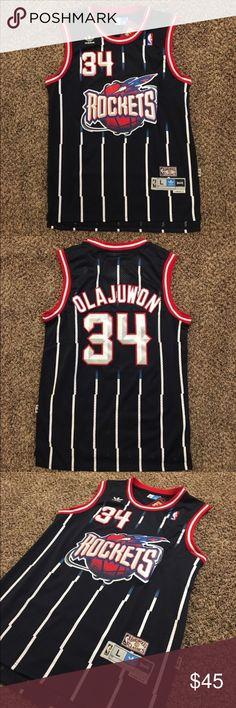 42a8bedb02c Throwback  34 Hakeem Olajuwon Rockets Jersey NBA Brand new Retro Throwback   34 Hakeem Olajuwon