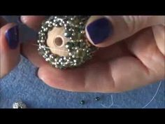 DIY Tutorial sfera con cipollotti | Tutorial play ball with a bead flat faceted round - YouTube