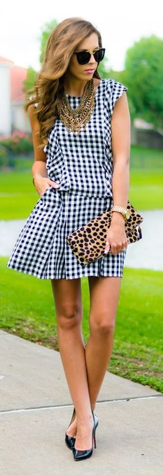 Gingham And Leo Styling by For The Love Of Fancy