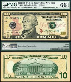 """See our website for more details on """"gold and silver prices"""". It is actually a great spot for more information. 10 Dollar Bill, Dollar Money, Dollar Bills, Money Template, Templates, Federal Reserve Note, Money Notes, Coin Dealers, Valuable Coins"""