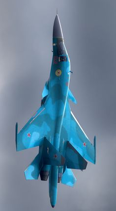Sukhoi Su-34 fighter-bomber Russian 2-seat jet