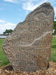 runic stone in australia