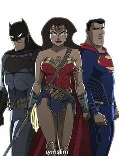 Batman v Superman Dawn of Justice Bruce Timm Style - Rymslim