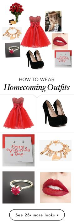 """""""Valentine's Night"""" by blueisthenewgrey on Polyvore featuring White House Black Market and Jouer"""