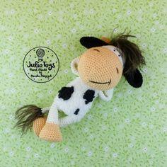 Cow Zuza amigurumi pattern by Julio Toys