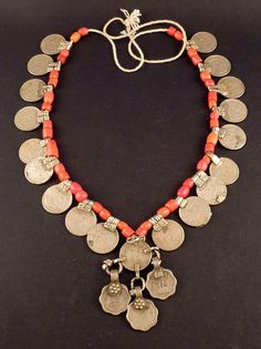 Banjara gypsy coin necklace from Rajasthan with by ethnicadornment, $49.60