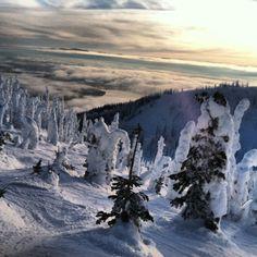Whitefish Mountain Resort at Big Mountain, Montana
