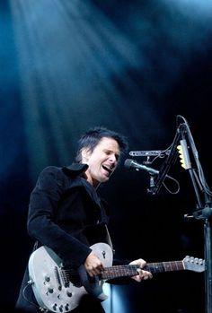 Matt Bellamy - Muse -  V Festival, Hylands Park, Chelmsford, UK (August 2004)