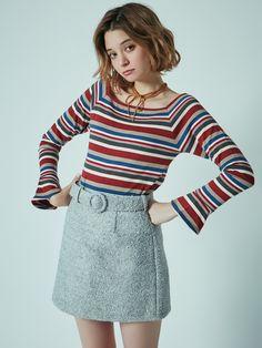 ダズリン|dazzlin公式ファッション通販|ランウェイチャンネルのボトムス(スカート)【sw】カラーミニ台形スカートならRUNWAY channel(ランウェイチャンネル)。ダズリン|dazzlin公式ファッション通販|ランウェイチャンネルの新作からセールまで公式通販サイトならではの豊富な在庫!雑誌掲載や有名人着用商品も多数!