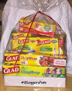 Enter to #Win this awesome GLAD Prize Pack during #BloggersFete