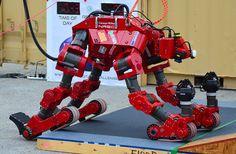 CHIMP Robot | DARPA Robotics Challenge