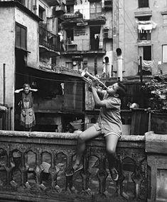 Eugeni Forcano :: Carrer del Marquès de Barberà, Barcelona, 1963 / src: the art stack more [+] this photographer