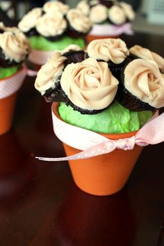"The Kitchen Prep: Valentine's ""Flours"" ~T~ Love these Chocolate Covered Cherry mini cupcakes."