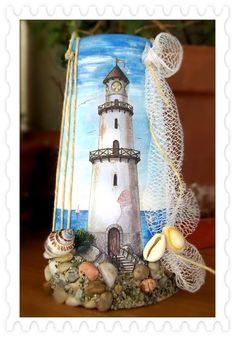 Silvia Solchaga's media content and analytics Seashell Art, Seashell Crafts, Beach Crafts, Summer Crafts, Rock Crafts, Diy And Crafts, Arts And Crafts, Wine Bottle Art, Wine Bottle Crafts