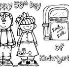 FREE! Celebrate the fiftieth day of school is style with these fabulous 50s FREEBIES!  This FREEBIE includes a number 50 page that can be filled with fi...