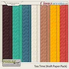 {Tea Time} Digital Kraft Papers by Pixelily Designs available at Gingerscraps http://store.gingerscraps.net/Tea-Time-Kraft-Paper-Pack.html  and Gotta Pixel http://www.gottapixel.net/store/product.php?productid=10017462&cat=&page=1 #digiscrap #digitalscrapbooking #pixelilydesigns #teatime