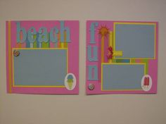 Beach Vacation 2009 Scrapbook by Shannoncae105 - Cards and Paper Crafts at Splitcoaststampers