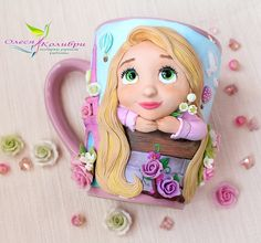 Clay Jar, Clay Mugs, Cute Mug, Clay Videos, Mug Art, Biscuit, Pasta Flexible, Polymer Clay Crafts, Air Dry Clay