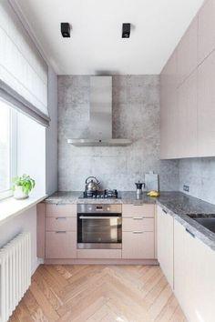 Классическая трешка на Черняховского для семьи с ребенком — The Village Kitchen Room Design, Home Decor Kitchen, Interior Design Kitchen, New Kitchen, Home Kitchens, Kitchen Ideas, Kitchen Inspiration, Interior Paint, Minimalist Kitchen