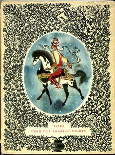 Arabian Nights illustrated by Jiri Trnka, 1960