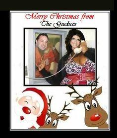 Real Housewives of New Jersey… Teresa and Joe Giudice Christmas Card