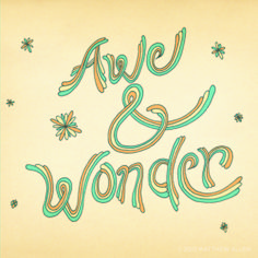 """Awe & Wonder,"" from THINK HAPPY, BE HAPPY http://www.workman.com/blog/think-happy-be-happy/"