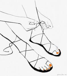 Feet Freak / Garance Doré