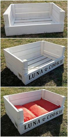 We regularly mentioned about wood pallet pet bed designs. But here we have mini … We regularly mentioned about wood pallet pet bed designs. But here we have mini pet bed which is ideal designed out in wooden pallet finishing… Continue reading → Wood Pallet Beds, Pallet Garden Furniture, Pallet Furniture Designs, Wooden Pallet Projects, Pallet Designs, Pallets Garden, Diy Furniture Projects, Wood Pallet Signs, Bed Designs