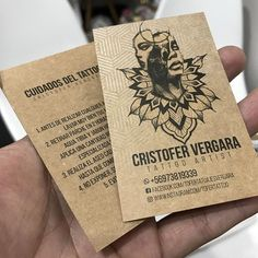 """Estudioprint en Instagram: """"Conoces las #ecoplata ? #tattoo #diseñograficochile Kraft 316grs + plata + negro en ambas caras ✌🏽"""" Cursed Child Book, Instagram, Appliques, Silver, Faces, Cards, Black"""