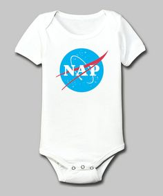 Take a look at this White 'Nap' Bodysuit - Infant by KidTeeZ on #zulily today!