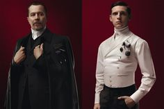 Sci-Fi Actors Wearing Steampunk Clothes Designed By Prada | Tor.com