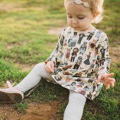 Twirl Dress // Toddler Dress // Baby Girl Dress // by JolieandJune