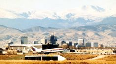 As Denver natives there is certain places that no longer exist, but will always hold a piece of our hearts. On October 1929 the Denver Municipal A. Lakewood Colorado, Denver Colorado, Colorado Springs, Colorado Real Estate, United Airlines, Rocky Mountains, Old Photos, Paris Skyline, Vacation