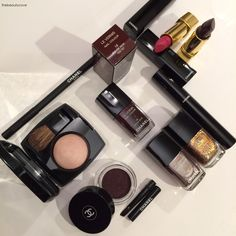 The Beauty Cove: NATALE 2015 • CHANEL MAKEUP - Collezione Rouge Noir Absolument