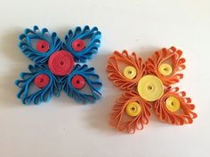 Quilling Flowers with a hair comb - YouTube