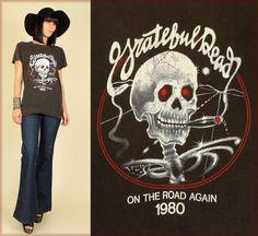 ViNtAgE 80's Grateful Dead Bertha Skull by hellhoundvintage, $248.00